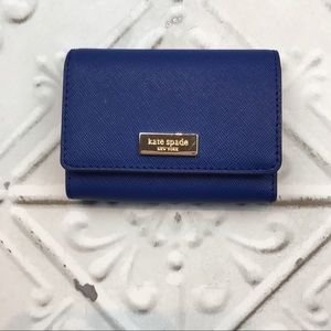 Kate Spade Newbury Lane Blue Business Card Holder